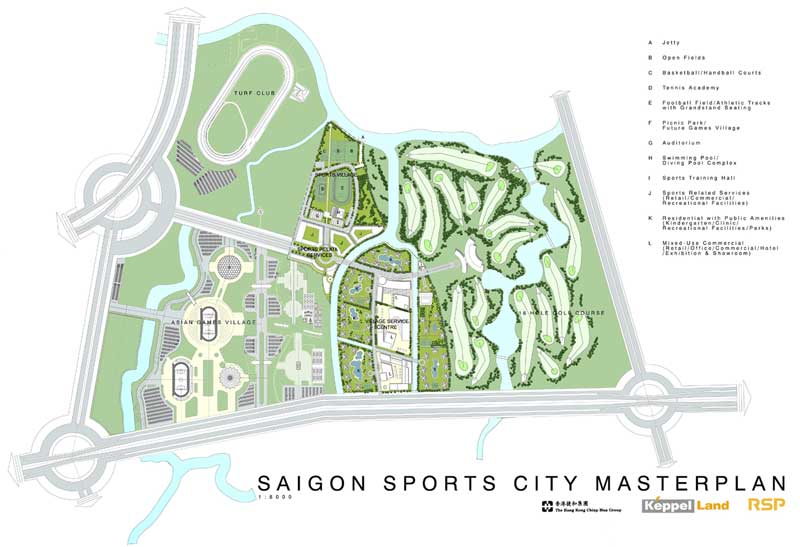 saigon sports city quan 2 noi an cu lau dai cho ban