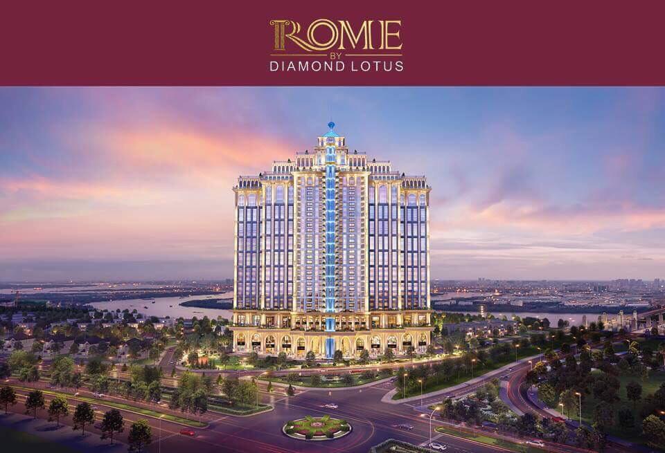 phoi canh rome diamond lotus
